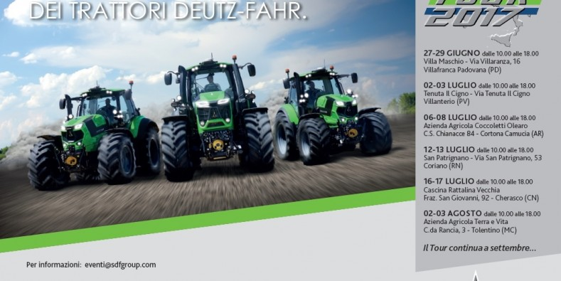 DEUTZ-FAHR Tour 2017
