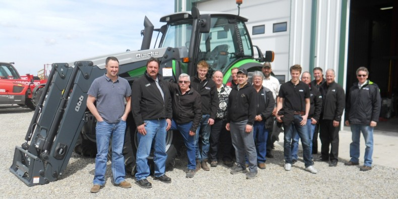 2015  English training done at Noble Equipment in Ontario