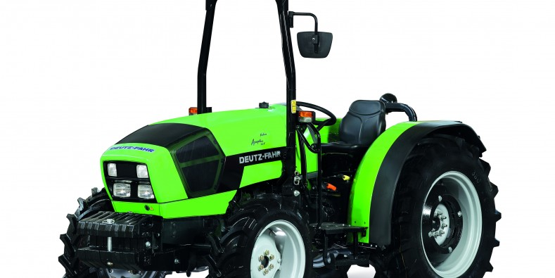 DEUTZ-FAHR AGROPLUS F Keyline - the specialist par excellence