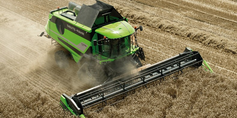 The new DEUTZ-FAHR C9000 combine harvester
