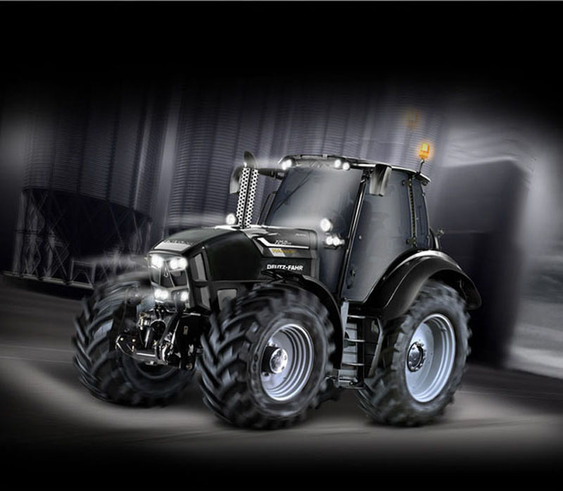 7250 TTV WARRIOR Tractor - LIMITED EDITION. DES PRESTATIONS ILLIMITÉES.