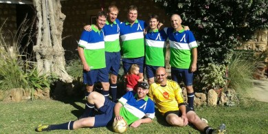 DEUTZ-FAHR soccer Team in Namibia