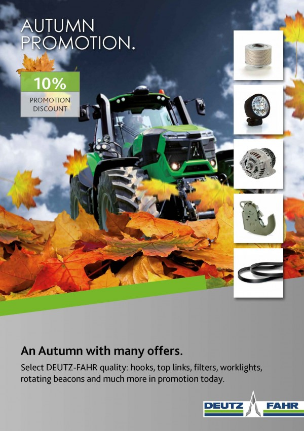 AUTUMN PROMOTION.