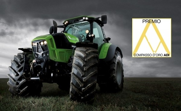 DEUTZ-FAHR 7250 TTV AGROTRON wins the 2014 Compasso d'Oro