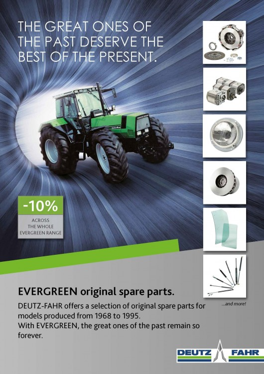 EVERGREEN original spare parts.