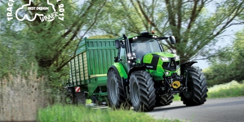 Tractor of Year 2017: DEUTZ-FAHR 6215 RCshift vince il  Best Design.