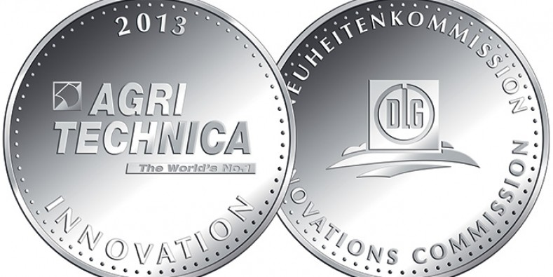 SAME DEUTZ-FAHR awarded two silver medals for Agritechnica Innovations 2013