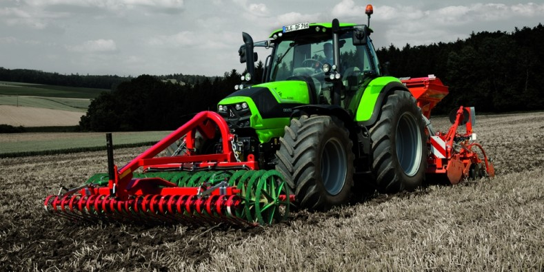 DEUTZ-FAHR Serie 6 CSHIFT: massime specifiche Powershift, di serie.