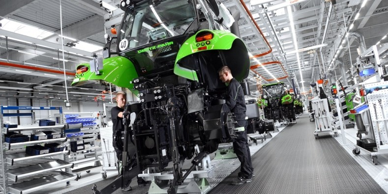 DEUTZ-FAHR LAND: High-Tech