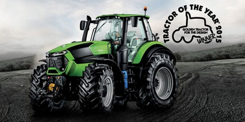 "The DEUTZ-FAHR 9 Series wins the  ""Golden Tractor for the Design"" award"