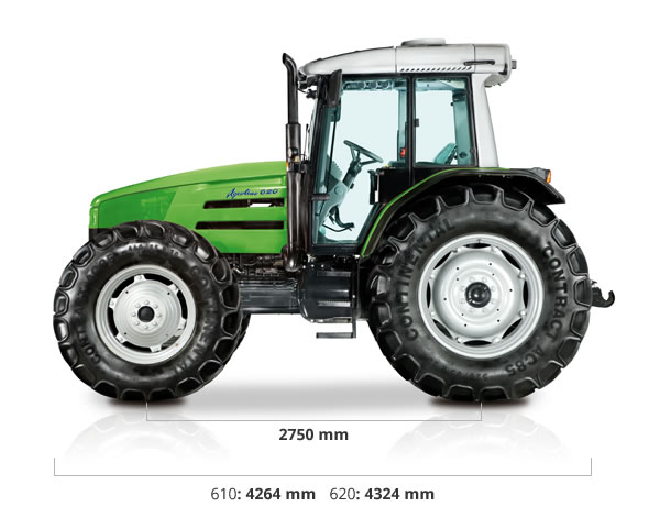 Specifications - 610 | 620 Agrotrac