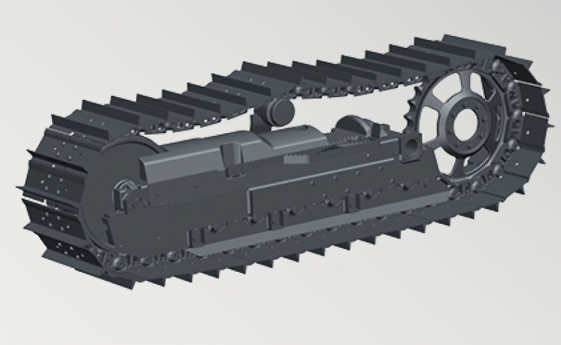 Crawler undercarriage - Serie 5K