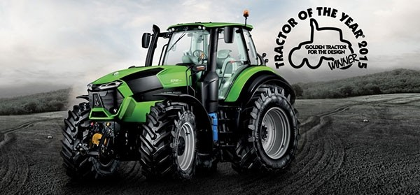 """The DEUTZ-FAHR 9 Series wins the  """"Golden Tractor for the Design"""" award"""