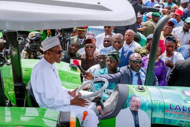 First batch of tractors arrive in Nigeria