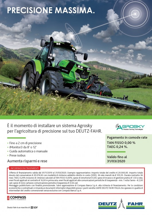 PROMOZIONE AGROSKY