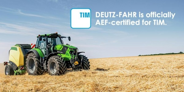 DEUTZ-FAHR attains AEF certification for TIM
